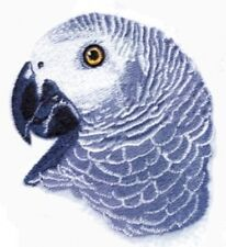 Embroidered Sweatshirt - African Grey Parrot BT4591