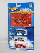 Hot Wheels 2004 Yu-Gi-Oh! Guide 3 Pack Hyperliner Muscle Tone Custom Cougar