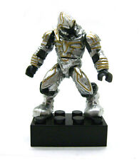 Mega Bloks Halo Silver Covenant Elite Arbiter Mini Action Figure Building Toy