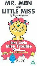 Mr Men and Little Miss - Isn't Little Miss Trouble Kind [VHS], Good VHS, ,