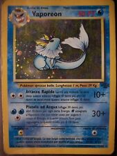 Vaporeon 12/64 Holo - Jungle -  Italian