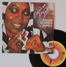 """Vinyle 45T Denise Lasalle  """"Freedom to express yourself"""""""