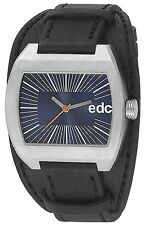 Esprit Edc TOUGH BELT - MIDNIGHT BLACK Herrenuhr Edelstahl Blau EE100821003