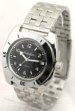 RUSSIAN VOSTOK DIVER AMFIBIAN Men's Automatic WATCH #150366 NEW
