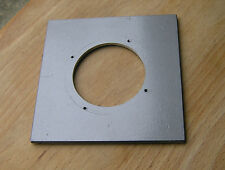 """Calumet 4x4"""" metal  lens board panel for compur 2 with 51.5mm  hole 105822"""
