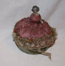 Antique French Pin Cushion Doll by B. Altman & Co.
