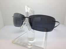 NEW!! AUTHENTIC MAUI JIM SUNGLASSES LIGHT HOUSE MJ-423-02 423-02 BLACK/GRAY POL