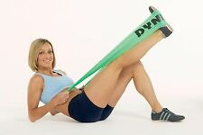 Dyna Band Resistance Exercise Band Gym Keep Fit Yoga Pilates Grey Strength