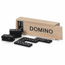 Dominoes Set in a Wooden Box - Fun Traditional Toy / Game