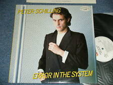 PETER SCHILLING Japan 1983 PROMO NM LP ERROR IN THE SYSTEM