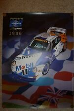 1996 Porsche Supercup Showroom Advertising Sales Poster RARE!! Awesome L@@K