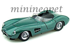 SHELBY COLLECTIBLES 115 1959 ASTON MARTIN DBR1 LEMANS 1/18 DIECAST GREEN