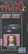 STAR TREK classic collection vhs 13corte marziale-elena di troia NUOVO