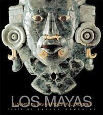 Tesoros de las Grandes Civilizaciones: Los Mayas (Spanish Edition)-ExLibrary