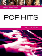 Really Easy Piano Arrangements Pop Hits Solo Music Book Beginner Chart Songs B65