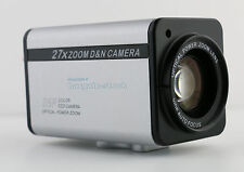 1/3 SONY Effio CCD 700TVL 27X Zoom Camera CCTV Security Camera IR-CUT Body