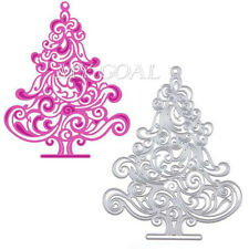 Christmas Tree Cutting Dies Stencil Scrapbooking Embossing Album Paper Card Gift