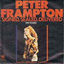 Peter Frampton - Signed Sealed Deliverd/Rocky's Hot Club (Vinyl-Single 1977) !!!