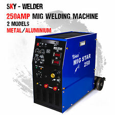 New Migstar 250A 250Amp Gas MIG/MAG Welding Machine Welder for Metal, Aluminium