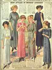 A4 Photo T Eaton Fall & Winter Catalogue 1913 Misses Dresses Print Poster