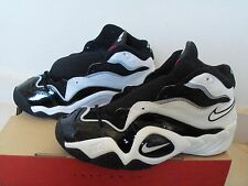 1996 OG Nike AIR FLIGHT TURBULENCE Vintage Sneaker NEW Sz: 8  Blk/Wht