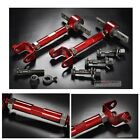 GSP Gen2 RSX DC5 CIVIC SI EP3 K20 Front Bolt RED Rear Adjustable Arm Camber Kit