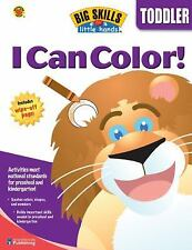 I Can Color (Big Skills for Little Hands®)  Paperback