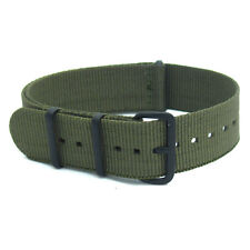 NATO Watch Strap Band Webbing Military Choice of colours and sizes - Free Pins