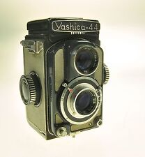 Yashica-44 Yashica 44 TLR Film Camera - Lens has Cleaning Marks -
