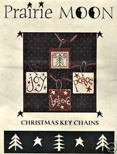 Prairie Moon:  Christmas Key Chains - Joy - OOP