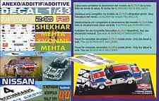 ANEXO DECAL 1/43 NISSAN 240 RS S.MEHTA ACROPOLIS R. 1985 4th (03)