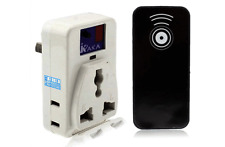Smart AC Power Outlets With IR Remote Controller