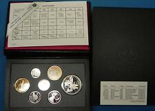 GN027 - Kanada Double Dollar Proof Set 1990 Kursmünzensatz KMS incl.Silber
