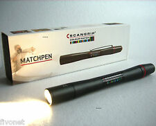 High CRI LED Stiftlampe Scangrip MATCHPEN Farberkennung COLOUR MATCH 03.5117 TOP
