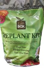 Earthbox Replant Kit includes Fertilizer Dolomite Mulch covers