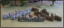 28MM DARK AGE 'WATTLE FENCING PACK' - PAINTED TO COLLECTORS STANDARD