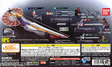 BANDAI Kamen Rider High Proportion Collection Miniature Weapon 1 (set 4 pcs)