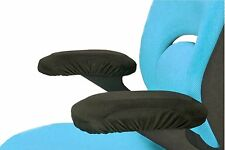 New Office Chair Memory Foam Armrest Cover Pads - Soft Touch Fabric Armrest Pads