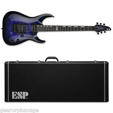 ESP E-II Horizon QM FR Reindeer Blue RDB Electric Guitar NEW w/ Hardshell Case