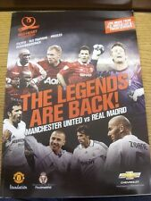02/06/2013 Manchester United Legends v Real Madrid Legends [Charity Match] . Tha