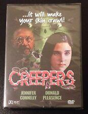 CREEPERS/PHENOMENA DVD Jennifer Connelly Donald Pleasence Dario Argento New Rare