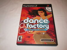 Dance Factory - Dance to Any Music CD (Playstation PS2) Original Complete Mint!