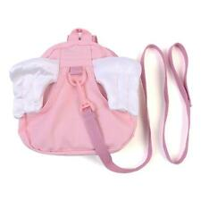 Baby Girl Pink Angel Backpack Toddler Safety Hand Strap Bag Harness Reins