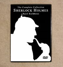 Sherlock Holmes - Basil Rathbone - The Complete Collection - All 14 episodes B&W