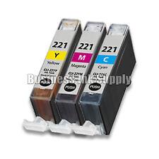 3 Color CLI221 CLI-221 CLI 221 CMY Canon Pixma MP980