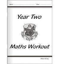 NEW! KS1 Maths Numeracy Workout Book - Year 2 by CGP Books (Paperback, 2001)