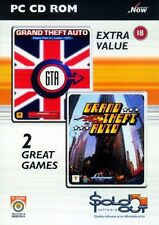 Gta double pack pc neuf et scellé grand theft auto et grand theft auto london