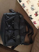 Kipling Changing Bag Baby Black Spots