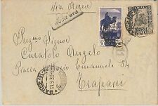 53709 - ITALIA COLONIE: LIBIA -  BUSTA da BARCE 1938