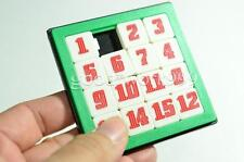 15 NUMBER PUZZLE SLIDE GAME JIGSAW TOY KIDS RANDOM COLOR